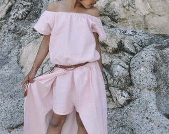 River Romper - PDF sewing pattern for girls sizes 12m - 14 years