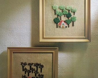PDF Embroidery Summer And Winter (Beginner)