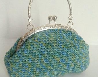 Crochet purse, clutch, handbag, crochet bag