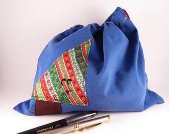 Christmas Gift Bag #5 - Appliqued Gift Bag