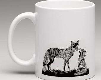 KEEP THE BAN! Fox Mug (charity donation for each purchase)