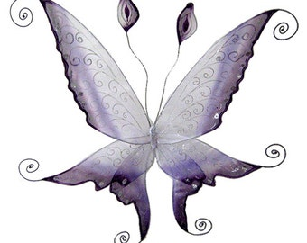 Violette Faerie Wings