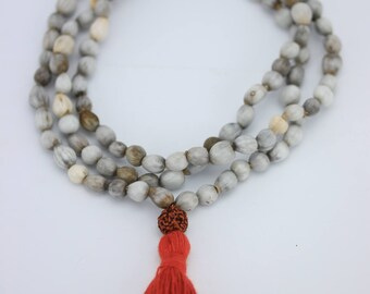 Vaijanti mala - Krishna japa Mala 108+1 Beads - Krishna vaijanti Japa Mala necklace- yoga meditation malah - Handmade malah - Japa Mala