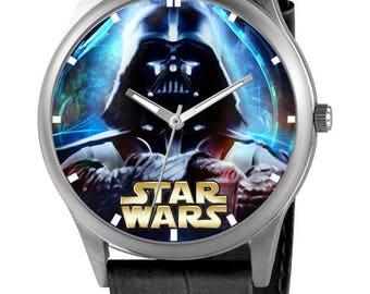 Custom Watch with Stars Wars, custom watch
