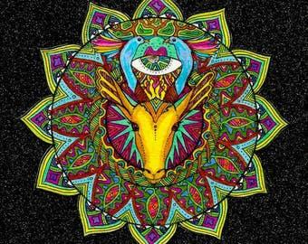 PRINT: Anahata, the heart chakra