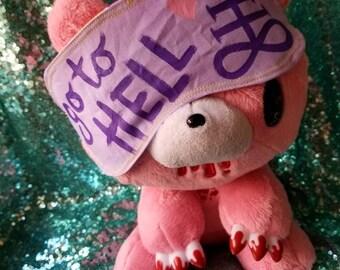 Go to Hell Sleep Mask