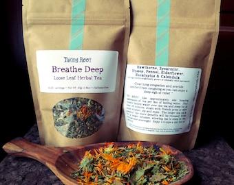 Breathe Deep loose leaf tea