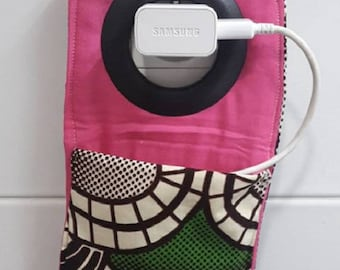 case in wax moletonne phone charger