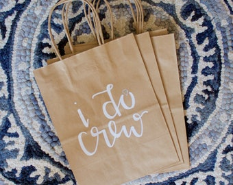 Custom gift bags | Bridal Shower Gift Bags | Bachelorette Party Bags | Wedding Gift Bags | Party Favor Bags | Bridal Party Gift Bags