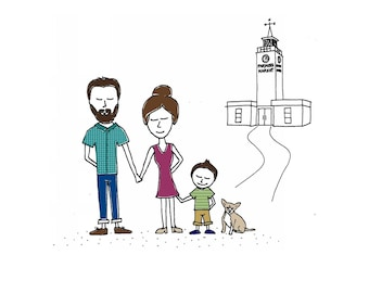 Custom Family Sketch