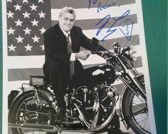 3 Day Spring Clearance Vintage Signed Jay Leno to Kevin