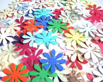 Confettis fleurs perforées - Mix pour Photo Props - confettis Party - Table décoration, Scrapbooking, fabrication de carte - comte 250