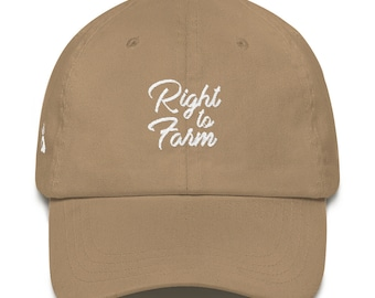 Right to Farm Dad Hat