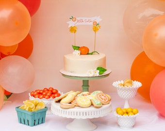 Little Cutie Citrus Baby Shower - Printable Party Collection by Itsy Belle