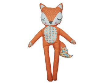 Fabric doll Foxy the fox