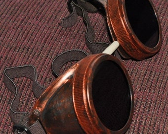 Steampunk Cyber Goggles Glasses Cosplay Anime Rave Larp 8