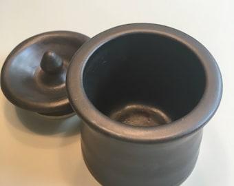 Lidded Jar in Black Walnut
