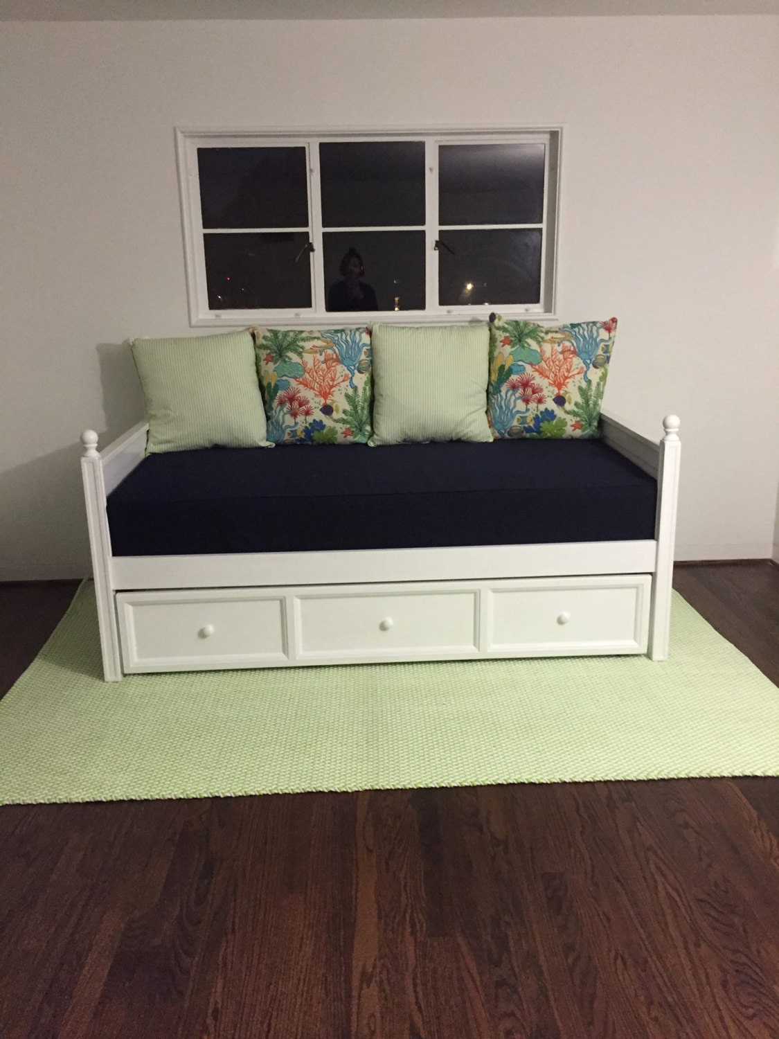 One Custom Twin Size Mattress Daybed Cover Indoor Outdoor