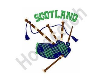 Scotland - Machine Embroidery Design