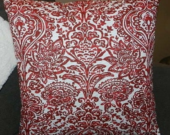 7 Sizes Available - Shiloh Carmine Pillow Cover