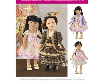 New Uncut Sewing Pattern - Doll Clothes