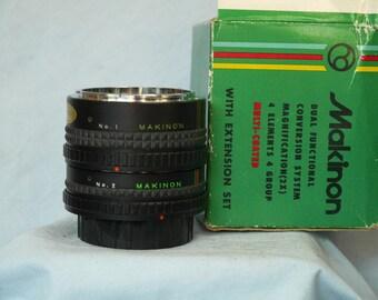 Canon FD Fit 2x Converter + Tube Makinon Boxed