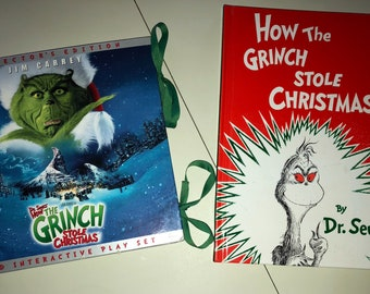 2 How the Grinch stole Christmas books