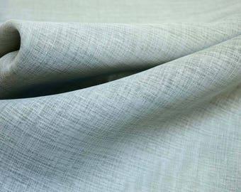 "Blue Sheer Fabric Magnolia Water 108"" x 3 Yard REMNANT"