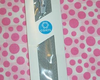 9 inch Polyester All-Purpose Zipper 23A Nugrey