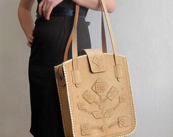 Leather BAG, Leather Purse, Shoulder Leather Bag, Top Handle Leather Bag, Bag Tree, Leather Handbag Black