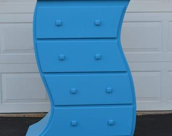 4 ft. Dr Seuss Dresser, Whimsical Dresser, Alice in Wonderland Furniture, Whimsical Furniture, Wooden Dresser, Children's Dresser, nursery