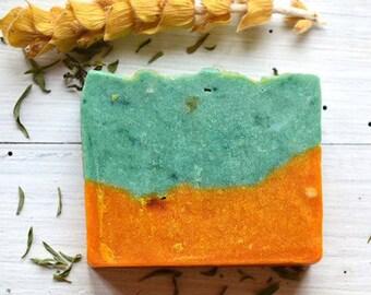 Natural Vegan Eucalyptus & Mint Soap Bar