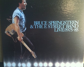Bruce Springsteen & The E Street Band Live 1975-85 3 Cassette Rock Box Set