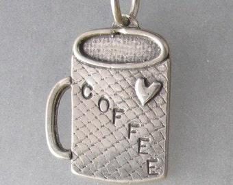 Coffee Mug Necklace