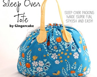 Sleep Over Tote PDF Sewing Pattern
