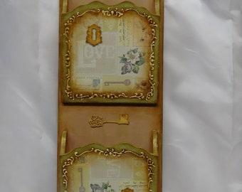 Wooden letter holder | Handmade