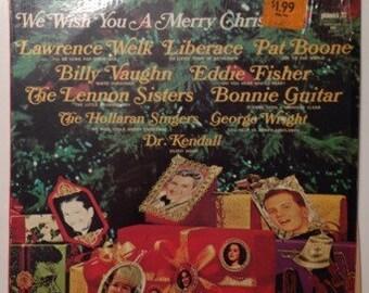 We Wish You A Merry Christmas Various Artists Vintage Vinyl Record Album LP 1968