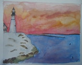 Lighthouse at Dusk comes ...