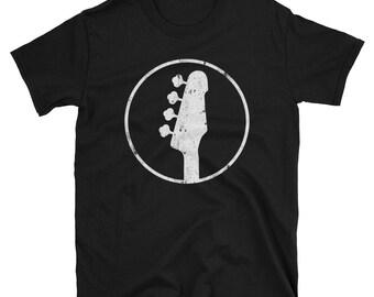 4 String Bass Headstock 4 String Bass Shirt Bass Player Gift Idea