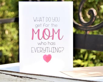 MOTHER'S DAY Pregnancy REVEAL to new Grandma, Greeting Card, Pregnancy Announcement, Great for First Grandchild! Customize to any occasion