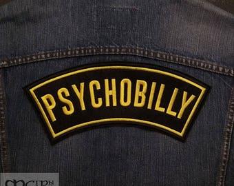 Big Back  Patch Psychobilly.