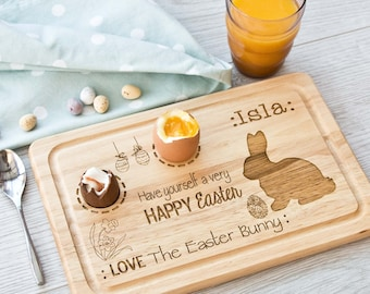 Personalised Easter Egg Board, easter gift, birthday, personalized