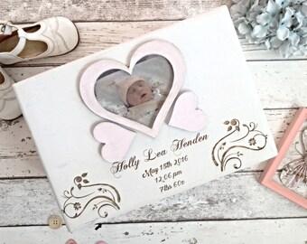 Memory box, New baby Gift, Keepsake box , Personalised, Memorial box, Rainbow baby, Christening gift,