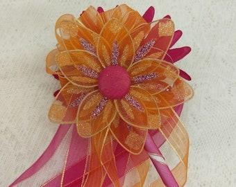 Flower Girl Fairy Wand, Fairy Wand, Wedding Fairy Wand, Flower Fairy Wand, Play Fairy Wand