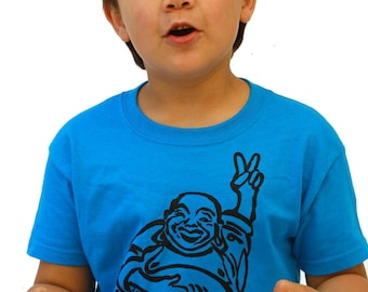 Hotei - Happy Lucky Buddha - Soft T Shirt - Toddler and Youth sizes