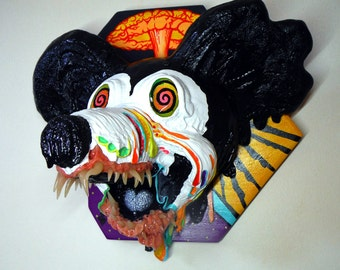 Nuclear Family Friendly x Original Pop Art Sculpture