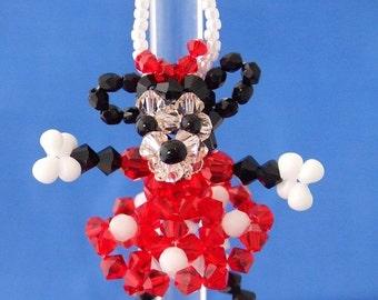 Minnie Mouse in Swarovski Crystal