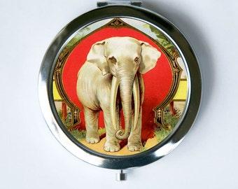 Elephant Compact MIRROR Pocket Mirror jungle zoo