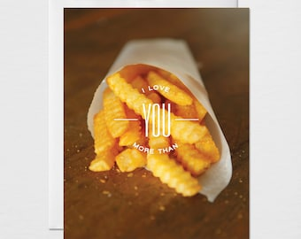 French Fry Card