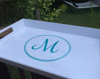 Personalized Serving Tray, Custom Serving Tray, Breakfast Tray